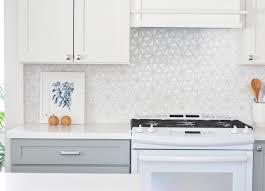 hexagon glass kitchen tile backsplash house ideas pinterest