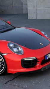turbo porsche red download wallpaper 750x1334 porsche 911 turbo s red side view