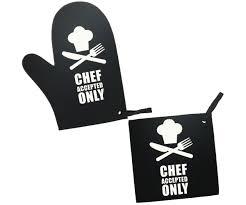 gant de cuisine anti chaleur set barbecue gant cuisson et manique cuisine anti chaleur noir