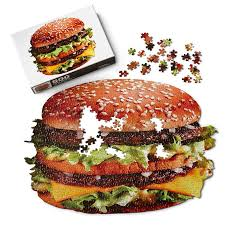 puzzle cuisine big mac puzzle smilemakers mcdonald s approved vendor for