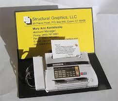 Clever Business Cards Fax Machine Business Card
