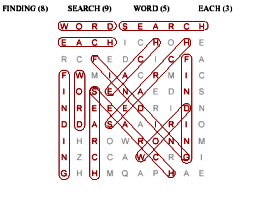 create a word find or word search puzzle worksheet