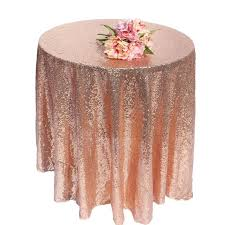 champagne god silver rose gold sequin tablecloth wedding beautiful