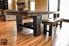If This Reclaimed Wood Farmhouse Table Could Talk Grain Designs