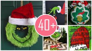 Christmas Tree Door Decoration Contest Vibrant Inspiration Grinch Christmas Door Decorations Decorating