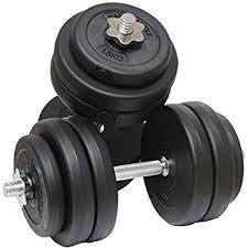 amazon black friday dumbbell hardcastle 30kg gym dumbbell free weights set amazon co uk