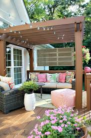 How To Decorate Decks And Patios Weekend Wonderings Savvy Southern Style Decking And Southern