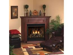 corner gas fireplace more efficient u2014 the wooden houses