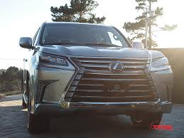 lexus lx 570 wagon refreshed 2016 lexus lx 570 unveiled at pebble beach the fast