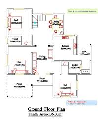 Floor Plan Of 4 Bedroom House 3 Bedroom House Plans Kerala Style 1200 Sq Feet Memsaheb Net