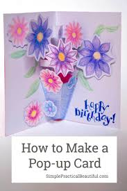 Popup Card Making Ideas How To Make A Pop Up Card Inspired By Paddington 2 Simple