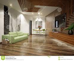 modern urban contemporary living room interior design stock