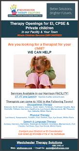 therapy openings therapy openings for ei cpse children special
