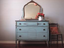 Vintage Bedroom Dresser Antique Dresser W Mirror