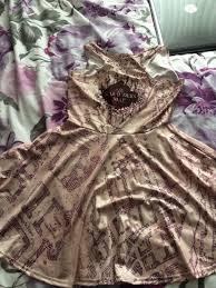Marauders Map Dress Lauradisneybride U2013 Laura U0026 Steven U0027s Disney Wedding 2015
