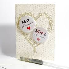 weeding card personalised mini magnets wedding card by bedcrumb