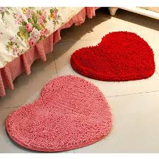 tapis de sol chambre tapis de sol chambre 12 mignon amour en forme de coeur tapis