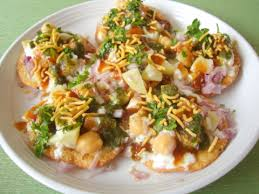 indian chaat cuisine papdi chaat papri chaat recipe how to papdi chaat