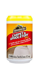 Remove Wax From Fabric Upholstery Amazon Com Armorall Carpet U0026 Upholstery Cleaning Wipes For Fabric