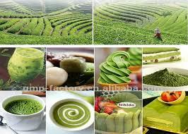 no food coloring 100 natural various types of matcha green tea