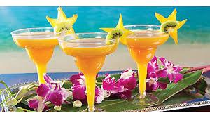 Tropical Party Themes - tropical blue hawaiian cocktail recipe luau cocktail ideas