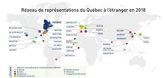 bureau des relations internationales renforcement du réseau de représentations du québec à l étranger