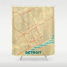 Detroit Lions Shower Curtain Detroit Shower Curtains Society6