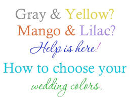 how to choose wedding colors ideas for finding inspiration for choosing your wedding colors