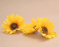 Artificial Sunflowers Artificial Sunflower Etsy