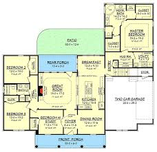 acadian floor plans acadian house plan with three or four beds 51751hz