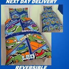 Ninja Turtle Bedding Teenage Mutant Ninja Turtles Duvet Quilt Bedding Cover Sets