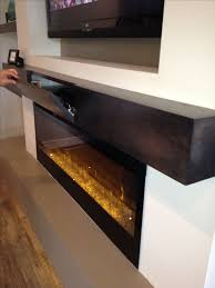 great extra storage for components in a box style mantle linear fireplacemodern fireplacefireplace wallfireplace