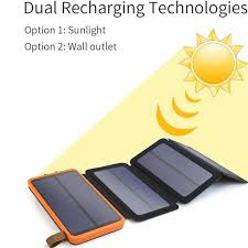 solar panels clipart 10000mah solar power bank with foldable panel portable rugged