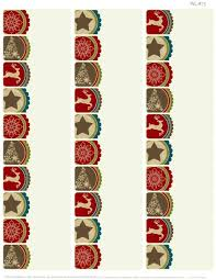 free printable christmas address labels templates silver gold