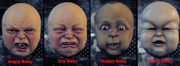 halloween baby face mask steams gemenskap guide payday 2 overview of loot masks