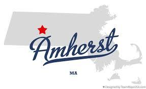 amherst map map of amherst ma massachusetts