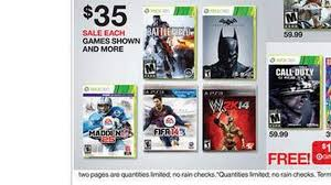 target black friday video game black friday 2013 top 10 best video game deals