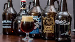 thanksgiving beverage what to drink with thanksgiving dinner how about a growler la