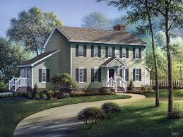 front porches on colonial homes walton colonial home house plans home and porticos