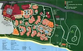 Santa Barbara Map 2013 Santa Barbara At Resort Bacara