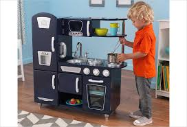 cuisine kidkraft vintage cuisine enfant vintage bleue kidkraft cuisine en bois jouet jouet