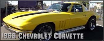 1966 chevrolet corvette factory paint colors