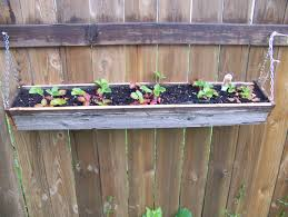 diy hanging reclaimed wood planter boxes using recycled wood and