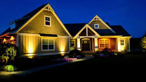 Lights In Soffit Outside by Home Led Outdoor Lighting Sundown Outdoor Lighting Outdoor