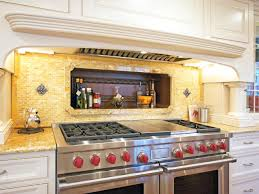 Glass Tiles For Kitchen Backsplash Kitchen Cream Kitchen Backsplash With Glass Tiles Home Design And