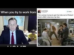 Bbc Memes - professor becomes internet meme legend after bbc interview youtube