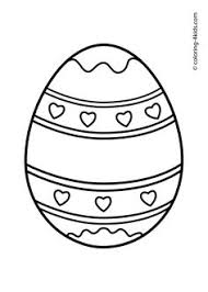 free printable easter egg coloring pages free online easter egg 3 colouring page kids activity sheets