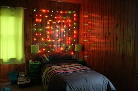 bedroom wonderful large colored lights wall hanging