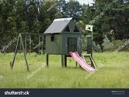 homemade kids playhouse stock photo 360604283 shutterstock