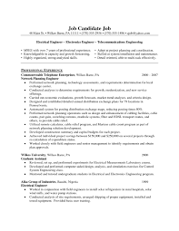 Best Resume Format For Computer Engineers by Resume Format Of Electrical Engineer Free Resume Example And